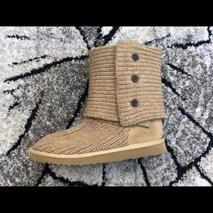 UGG Tan Cardy boots